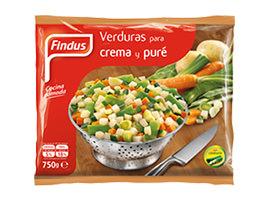 Verduras para crema puré Findus