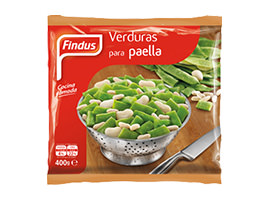 Verduras para paella Findus