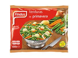 Verduras de primavera Findus
