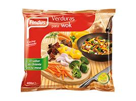 Verduras para wok Findus