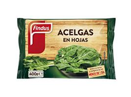 Acelgas en hojas Findus