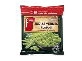 Judías verdes planas congeladas Findus 268 x 200