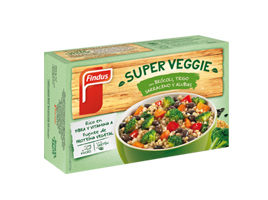 Super veggie Brocoli Trigo y alubias