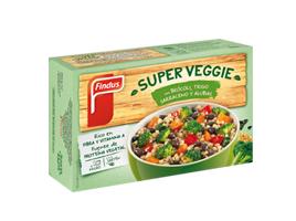 Super veggie Brócoli Trigo y alubias