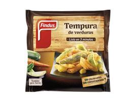 Tempura de verduras Findus