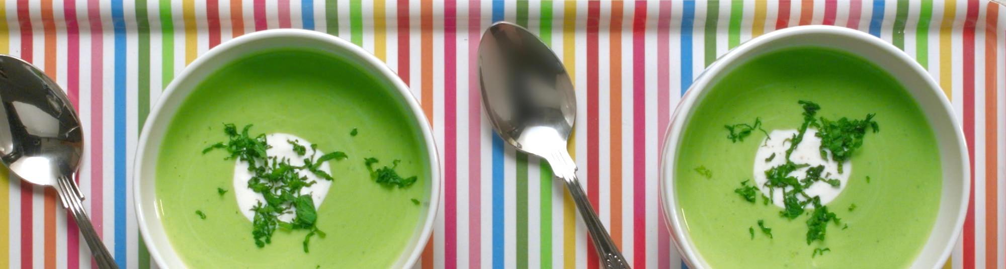 Crema fría de guisantes con yogurt Findus 1024 x 274
