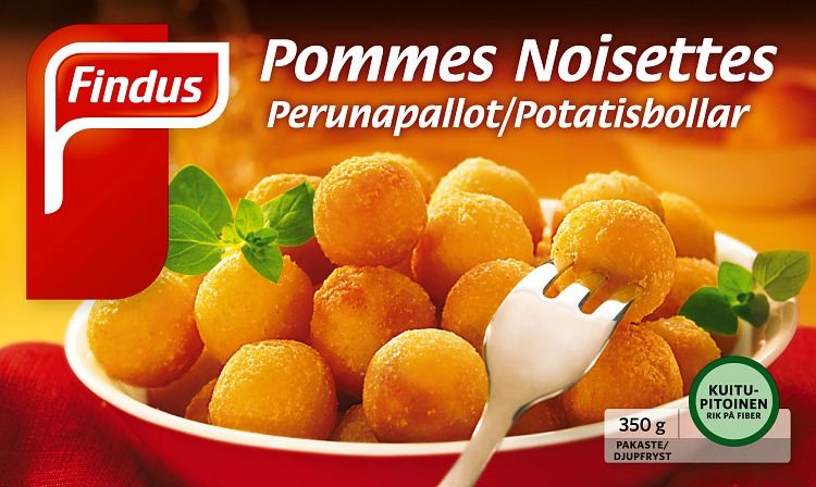 Perunapallot Pommes Noisettes