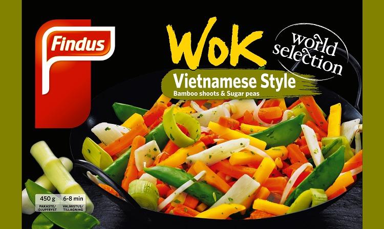 Wok Vietnamese wokkivihannekset