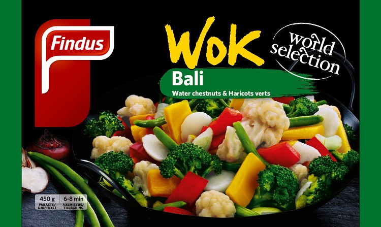 Wok Bali wokkivihannekset