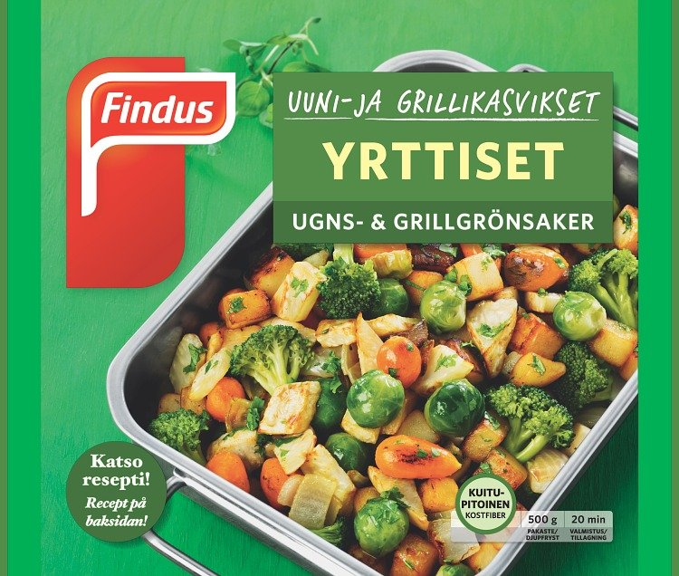 Uuni- ja grillikasvikset Yrttiset