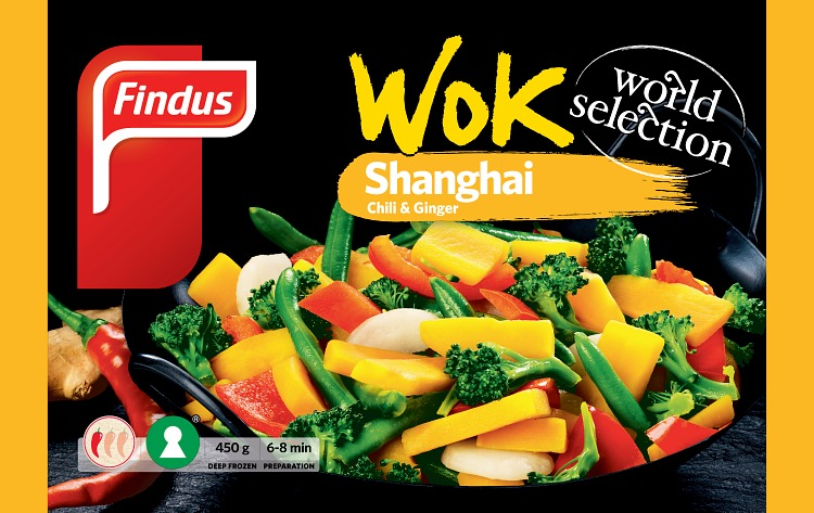 Wok Shanghai wokkivihannekset