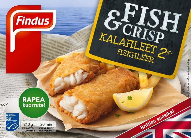 fish crisp kalafileet
