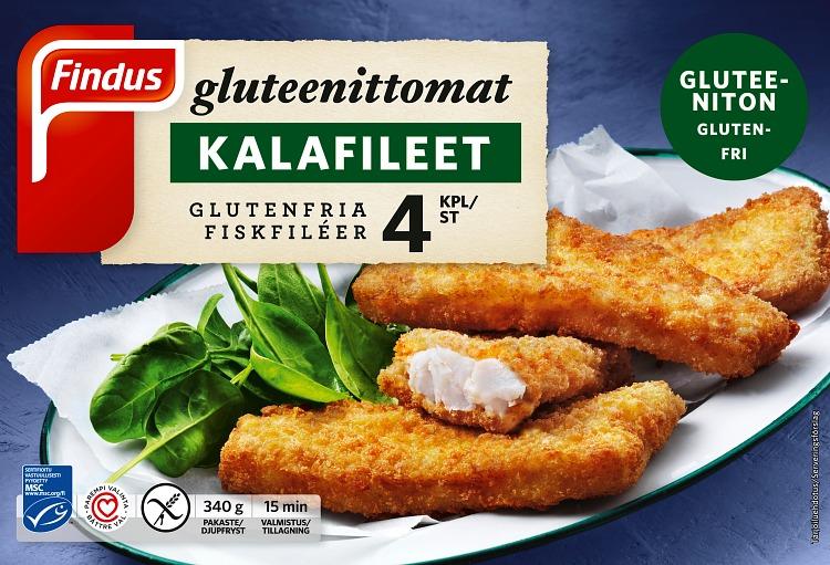 gluteenittomat kalafileet