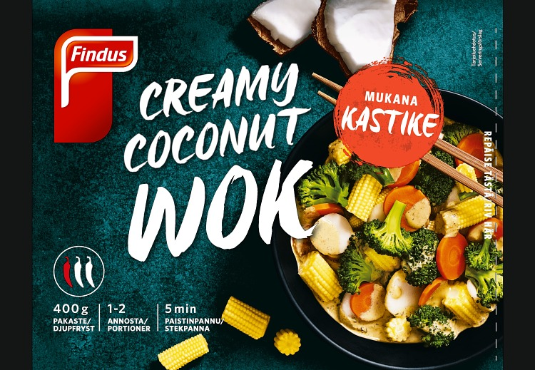 Creamy Coconut Wok