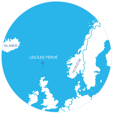 Zone d'élevage Îles Féroé