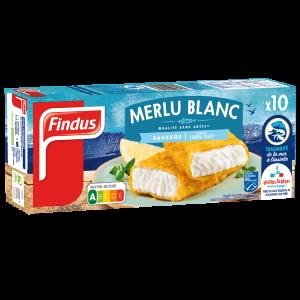Tranches panées de Merlu Blanc