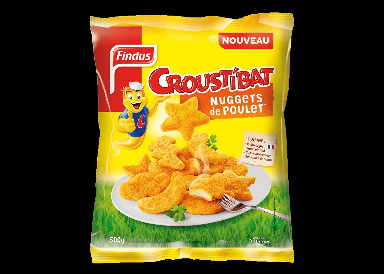 Findus Croustibat Nuggets Poulet Findus