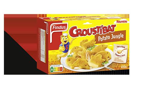 1 boîte de Croustibat potato Jungle