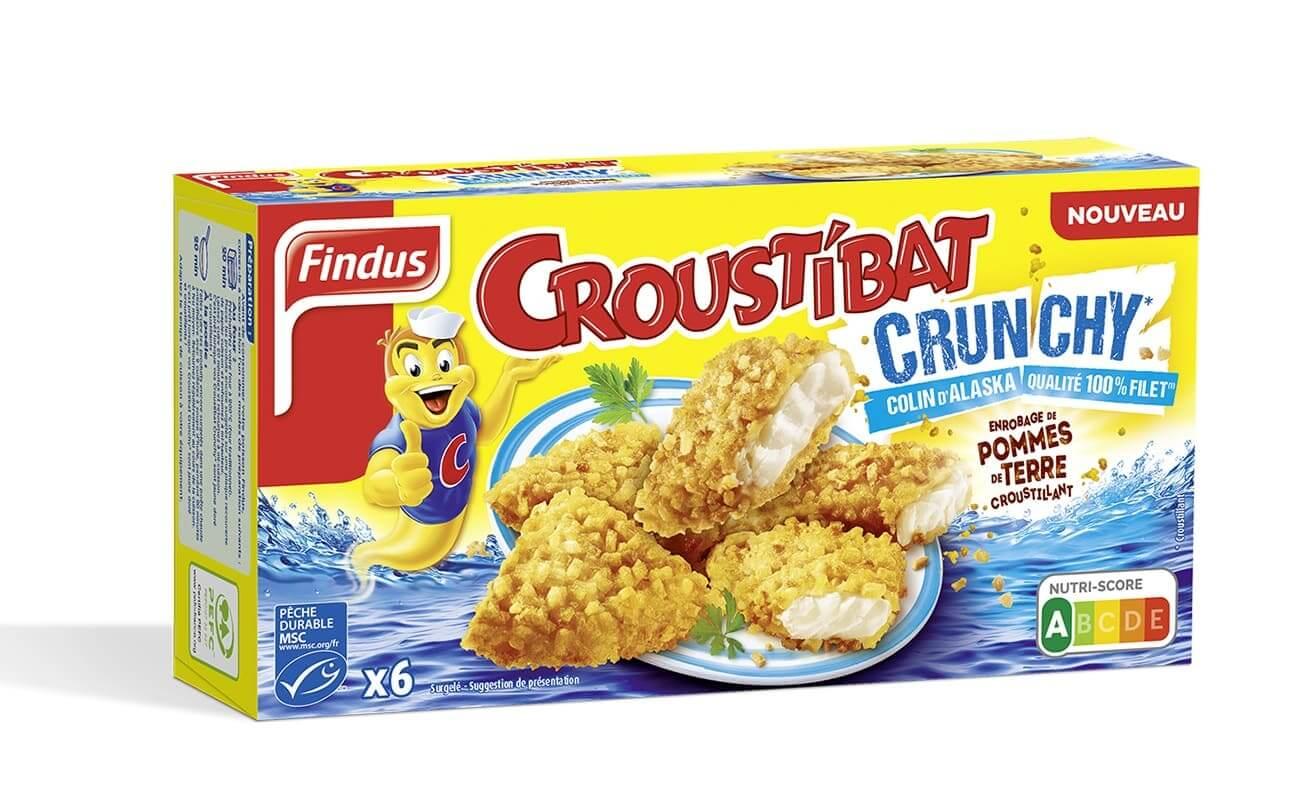 1 boîte de Croustibat Crunchy