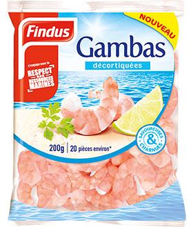 Gambas Fruits de Mer Recette Findus