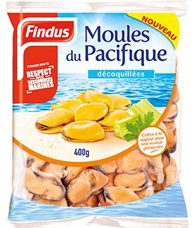 Moules Pacifique Fruits de Mer Recette Findus