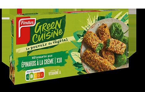 1 boîte de croustillant d'épinards à la crème Green Cuisine Findus