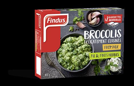 Brocolis Délicaement Cuisinés Fromage, Ail & Fines Herbes