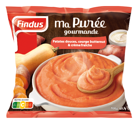 Purée Patate Douce Courge Butternut