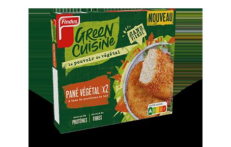 1 boîte de pané végétal Findus Green Cuisine