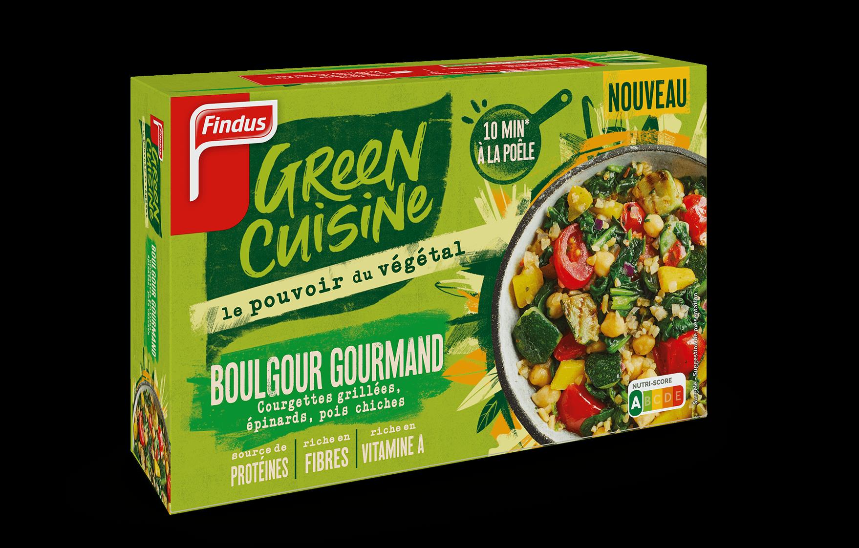 Paquet de boulgour gourmand Green Cuisine Findus