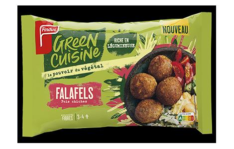 Paquet de falafels Green Cuisine Findus