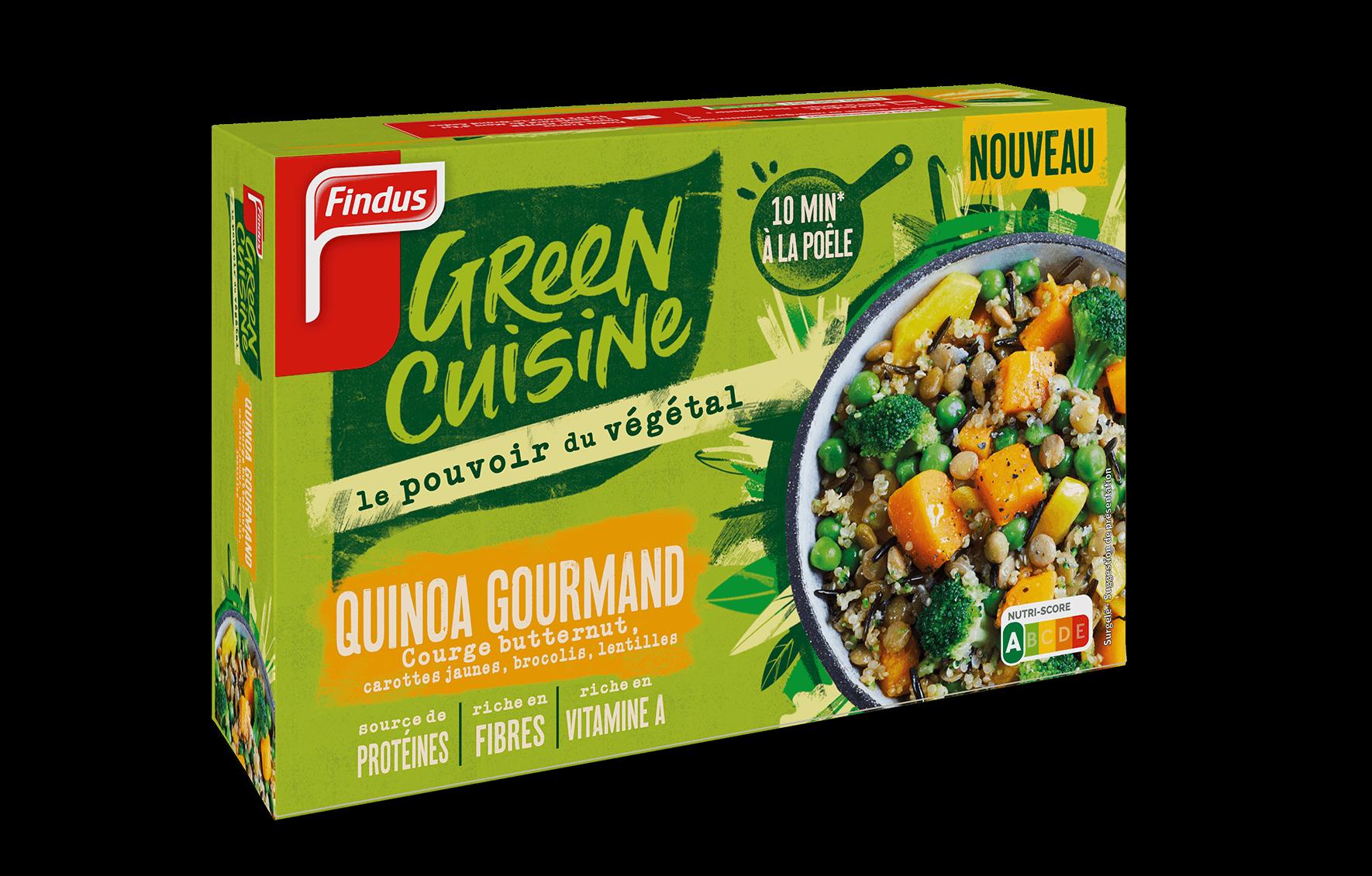 Paquet de quinoa gourmand Green Cuisine Findus