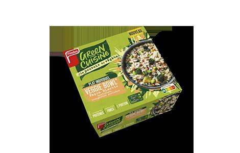 Paquet de veggie bowl façon risotto Green Cuisine Findus