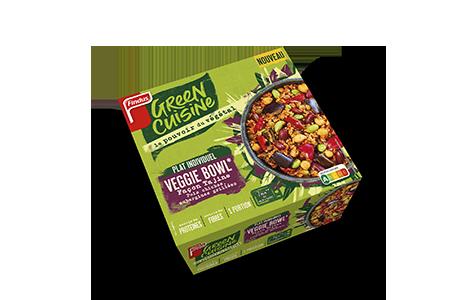 Paquet de veggie bowl façon tajine Green Cuisine Findus