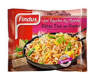 Poêlée Pâtes Thai Findus