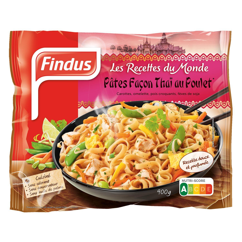 Paquet de pâtes façon thaï au poulet Findus