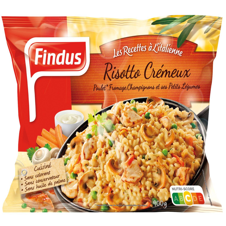 Paquet de poêlée façon risotto crémeux Findus