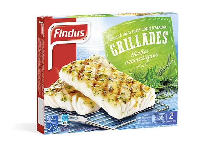 Findus Grillades Herbes Aromatiques MSC Findus