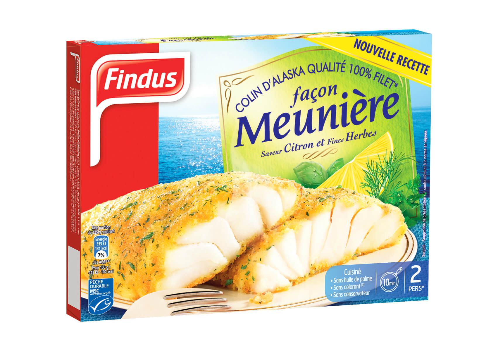Fidnus Colin d'Alaska façon meunière saveur citron