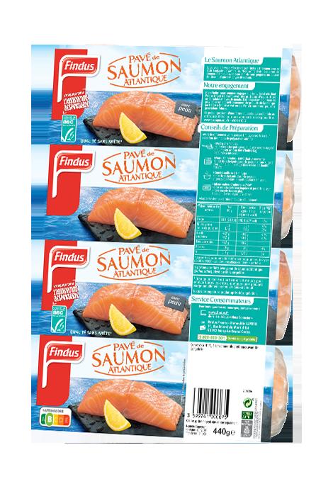 4 Pave Saumon Atlantique Poisson Nature Recette