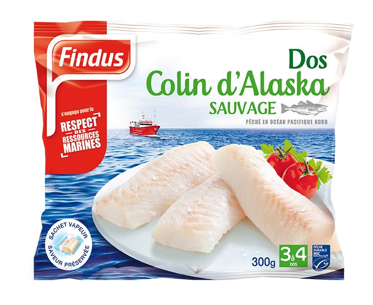 Findus 3 dos colin alaska poisson nature recette