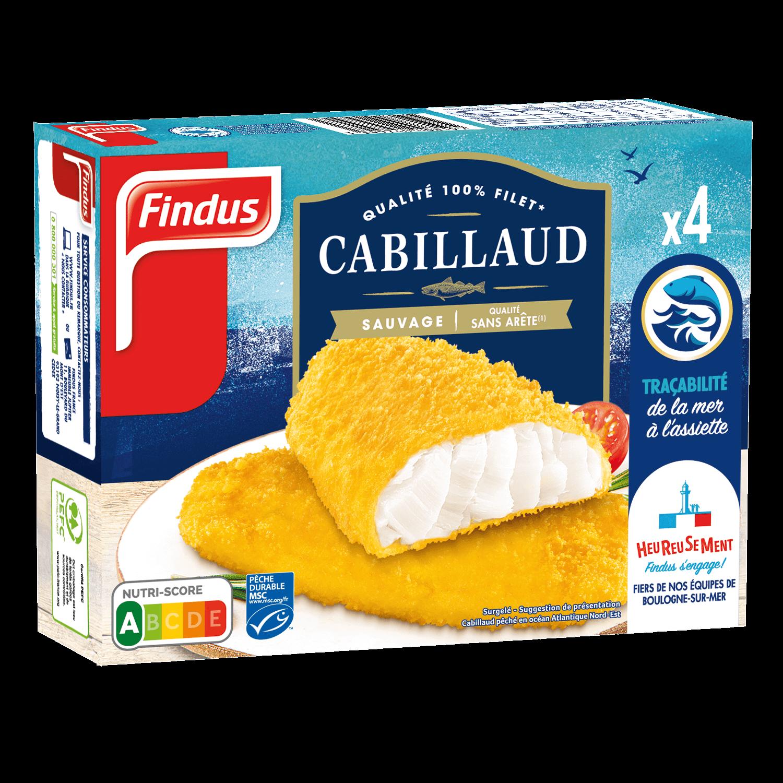 Filets Cabillaud