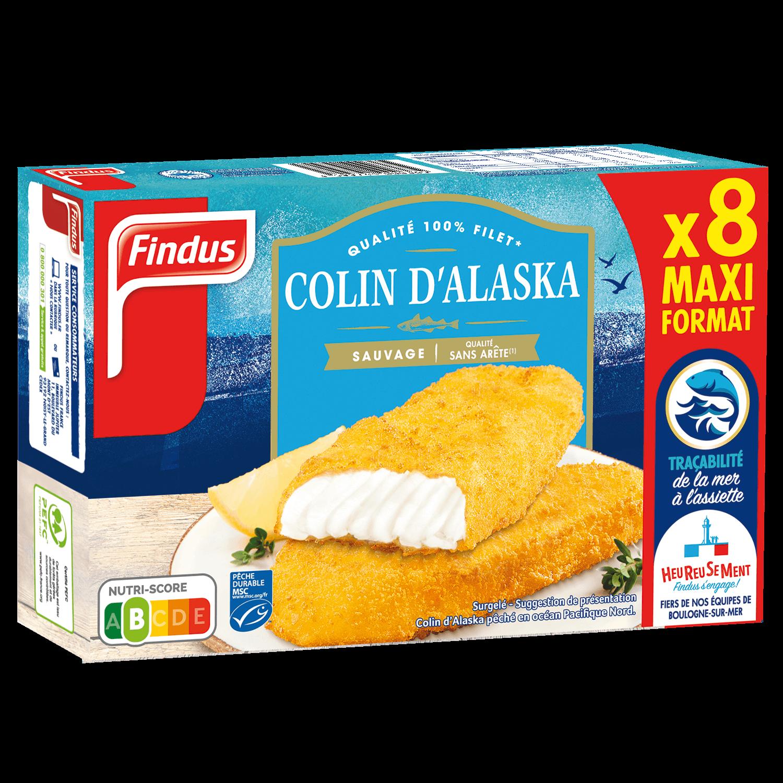Filets Panés de Colin d'Alaska - format familial