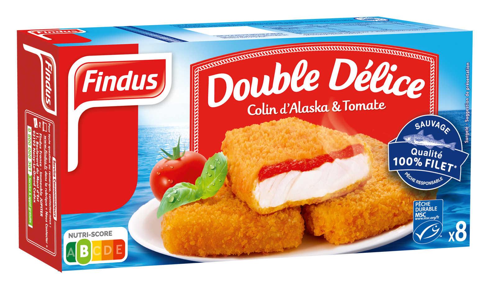 Double délice de tomate Findus