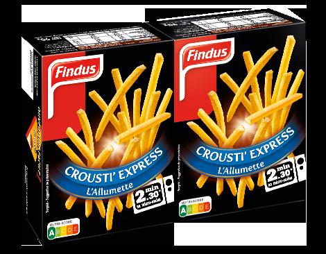 Frite Crousti' Express La l'Allumettes Findus
