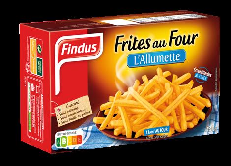 Frites Au Four Pommes Frites Findus
