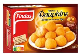 Findus pommes de terre dauphine boite