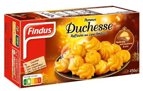1 boite de Pommes Duchesse Findus