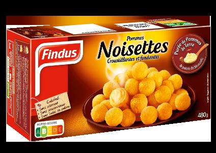Findus pommes de terre noisettes boite