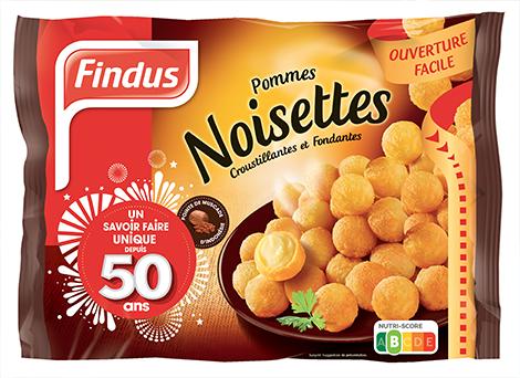 Findus pommes de terre noisettes sachet